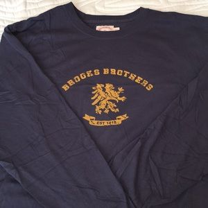 Brooks Brothers Long sleeve tee shirt 1818